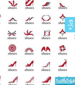 دانلود لوگو های کفش - Shoe Logos
