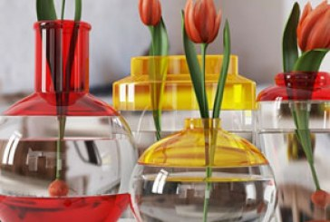 دانلود مدل سه بعدی گلدان گل لاله