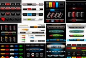 وکتور های عناصر طراحی صفحات وب – شماره 2