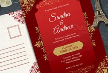 دانلود فایل لایه باز کارت های عروسی زیبا