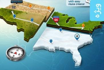 دانلود اکشن فتوشاپ ساخت نقشه 3 بعدی