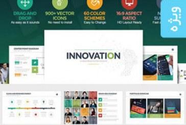 دانلود قالب پاورپوینت حرفه ای Innovation