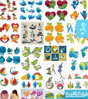 دانلود لوگو های مختلف لایه باز - شماره 85