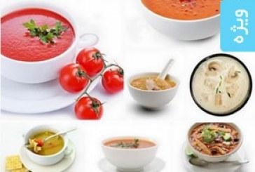 دانلود تصاویر استوک سوپ های گوشت و رژیمی