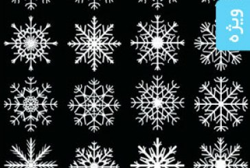 دانلود آیکون های دانه برف – شماره 2