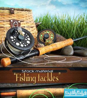 دانلود تصاویر استوک وسایل ماهیگیری