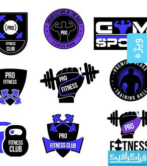 لوگو های باشگاه بدنسازی و تناسب اندام