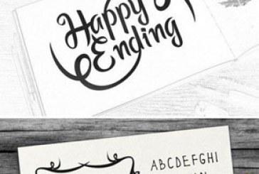 دانلود فونت انگلیسی Happy Ending
