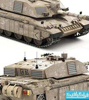 دانلود مدل 3 بعدی تانک جنگی