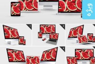 ماک آپ فتوشاپ محصولات شرکت اپل – شماره 3