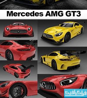 دانلود مدل 3 بعدی اتومبیل Mercedes AMG GT3