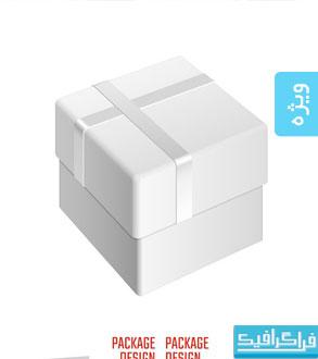 دانلود وکتور ماک آپ های بسته بندی محصولات