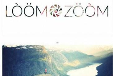 دانلود قالب psd سایت عکاسی Loom Zoom