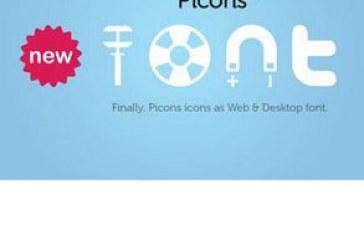 دانلود فونت های آیکون Picons