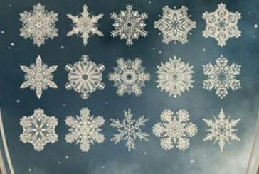 دانلود براش های فتوشاپ دانه برف جادویی