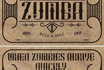 دانلود فونت انگلیسی Zumba