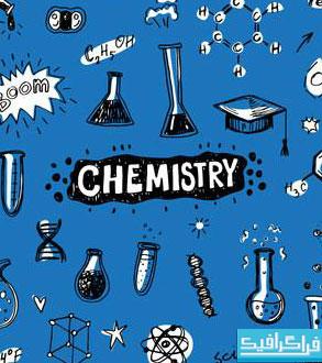 دانلود پترن های فتوشاپ شیمی