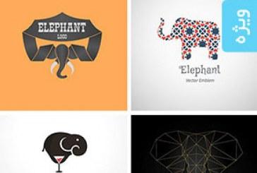 دانلود لوگو های فیل – Elephant Logos