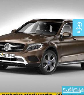 دانلود مدل 3 بعدی اتومبیل Mercedes Benz GLC