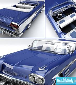 دانلود مدل 3 بعدی اتومبیل Pontiac Bonneville 1958