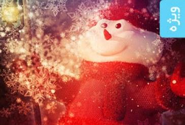 اکشن فتوشاپ ساخت افکت دانه برف Snowflake