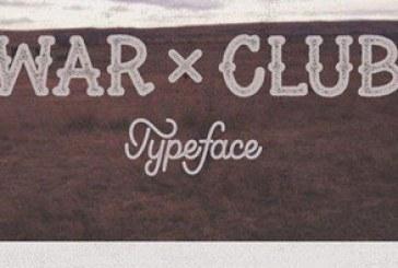 دانلود فونت انگلیسی گرافیکی War Club
