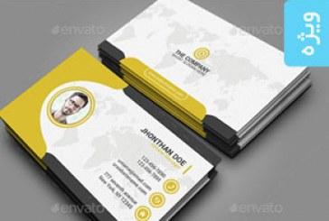 دانلود 2 کارت ویزیت حرفه ای شرکتی – شماره 6
