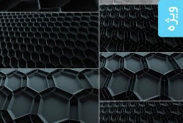 دانلود تکسچر های 3 بعدی انتزاعی خاکستری – شماره 2