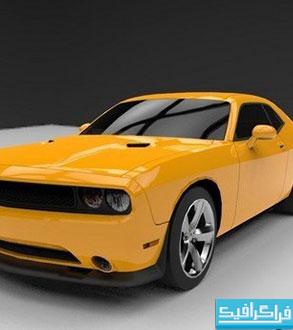 دانلود مدل 3 بعدی اتومبیل Dodge Challenger SRT 8