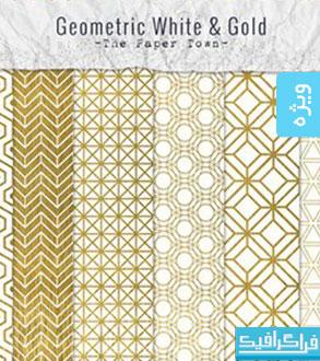 دانلود پترن های فتوشاپ طلایی و هندسی