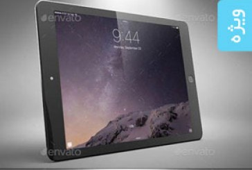 دانلود ماک آپ فتوشاپ تبلت iPad Air 2 – شماره 2