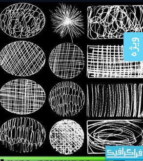 دانلود وکتور تکسچر های خطی - Line Textures