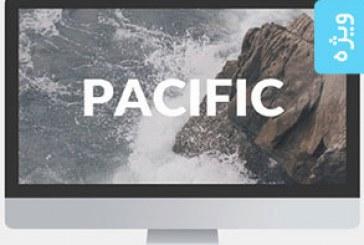 دانلود قالب پاورپوینت مدرن Pacific