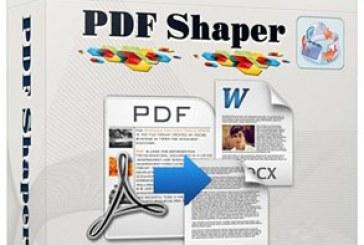 نرم افزار تبدیل فایل PDF به متنی PDF Shaper