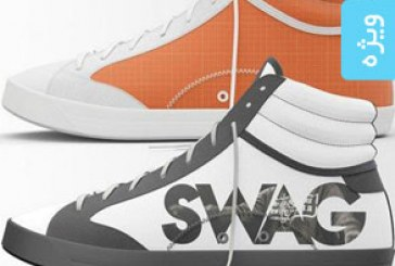 دانلود ماک آپ فتوشاپ کفش کتانی – Sneaker Mock Up