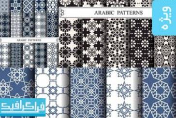 دانلود وکتور پترن های طرح عربی – شماره 3