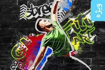 دانلود اکشن فتوشاپ افکت گرافیتی – شماره 2