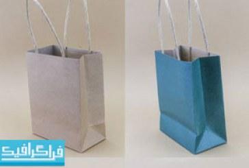 دانلود تصاویر استوک کیف های خرید کاغذی
