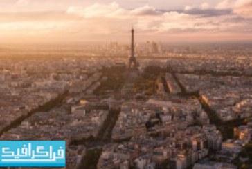 دانلود والپیپر شهر پاریس – نمای پانوراما