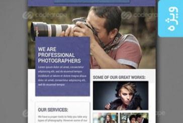 دانلود فایل لایه باز پوستر عکاسی – شماره 3