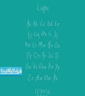 دانلود فونت انگلیسی خوشنویسی Safavid