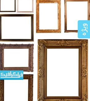 دانلود تصاویر استوک قاب چوبی تزئینی