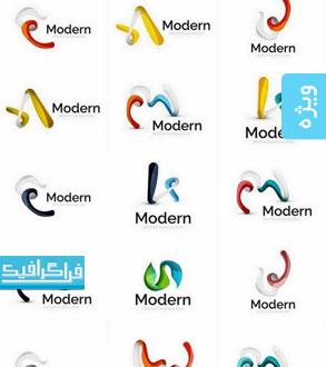 دانلود لوگو های مدرن انتزاعی