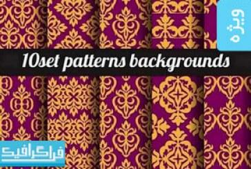 دانلود وکتور پترن های انتزاعی – Abstract Patterns