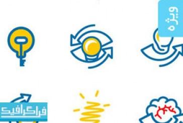 دانلود لوگو های خلاقانه لامپ