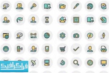 دانلود آیکون های خطی توپر – Filled Line Icons