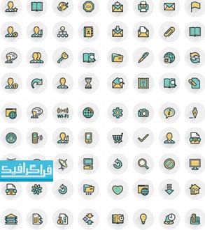 دانلود آیکون های خطی توپر - Filled Line Icons