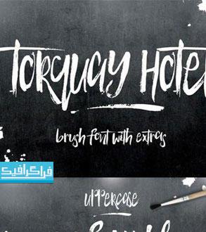 دانلود فونت انگلیسی قلمویی Torquay Hotel
