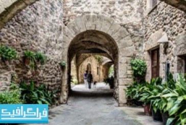 دانلود والپیپر روستا در شهر کاتالونیا