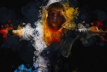 اکشن فتوشاپ افکت پاشیده شدن رنگ آبرنگ